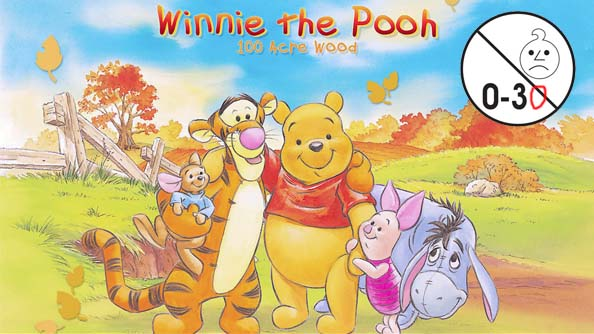 Winnie the Pooh: Home Run Derby is not suitable for children