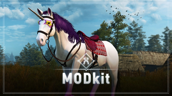 The Witcher 3 mod tools have been released. Go make a funny horse