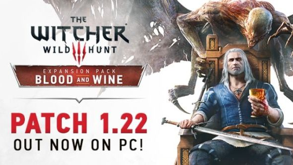Witcher 3 patch 122