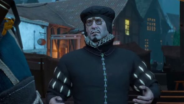 The Witcher 3 taxman