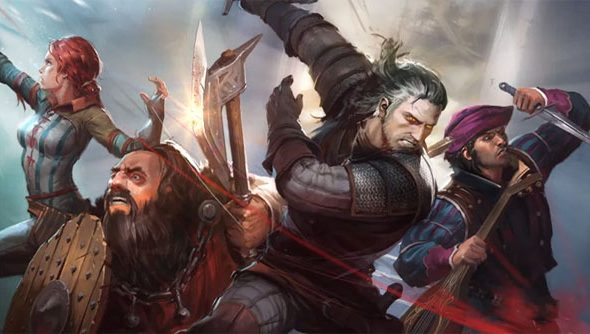 The Witcher Adventure Game pulls in four key characters from the series.