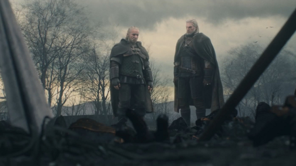The Witcher 3's opening cinematic shows why you don't get into staring contests with crows