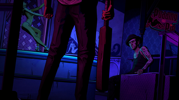 The Big Bad Interrogator: The Wolf Among Us Episode 2 Red Band trailer is pretty grim