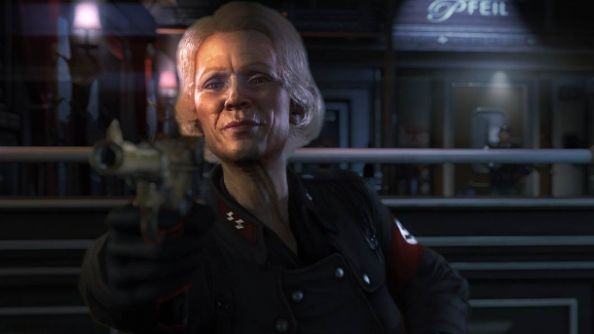New pre-order: Wolfenstein trailer has us board the train to Berlin and disembark with wet pants