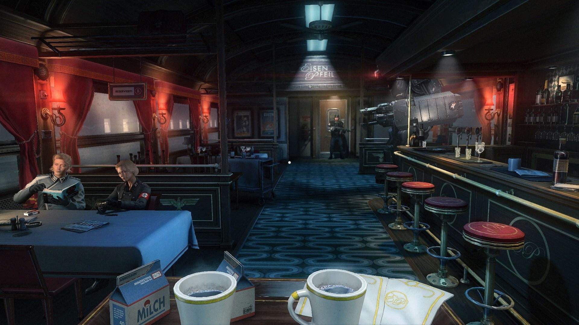 Wolfenstein: The New Order coffee