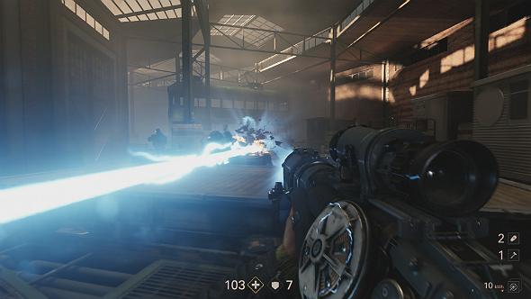 wolfenstein 2 lasergewehr