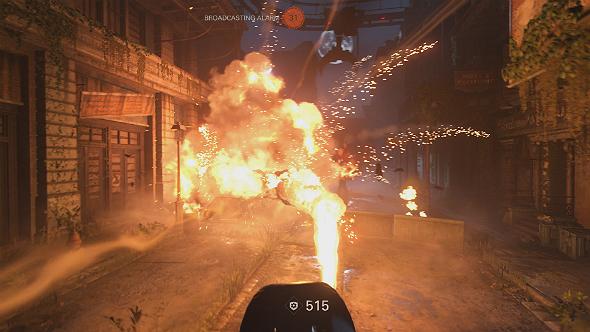 wolfenstein 2 panzerhund gameplay