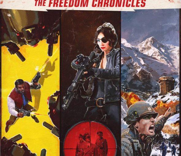 Wolfenstein 2 dlc poster