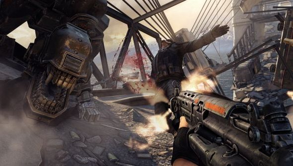 Let us not forget: Wolfenstein is a silly shooter full of robot dogs and impossible environments. And all the better for it, it seems.