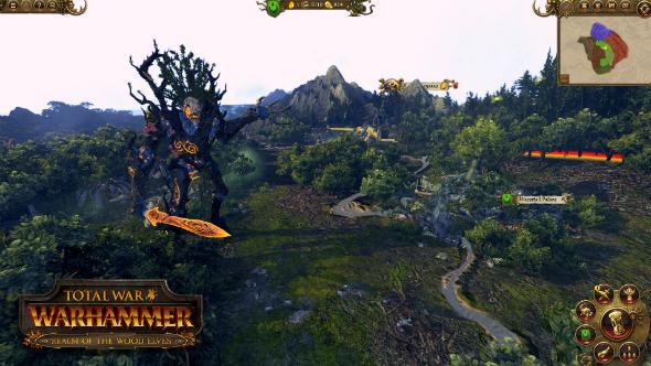 Total War Warhammer Wood Elves DLC