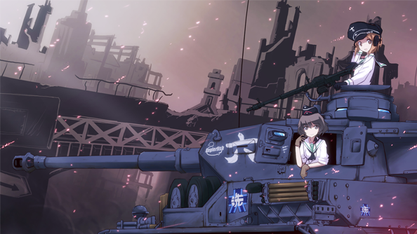 World of Tanks to collaborate with anime series Girls Und Panzer