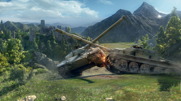 World of Tanks' average players spend three times as much as League of Legends players