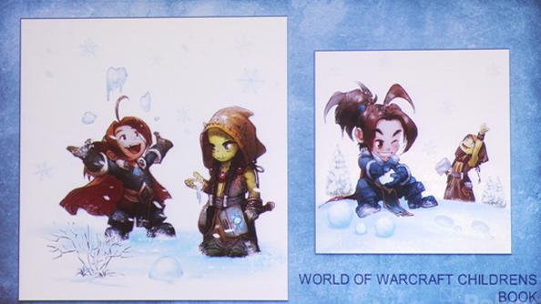 World of Warcraft Snowfight is Blizzard's first children's book