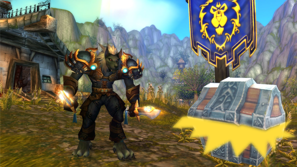 World of Warcraft: Warlords of Draenor will make loot drops more exciting with randomized stats and buffs