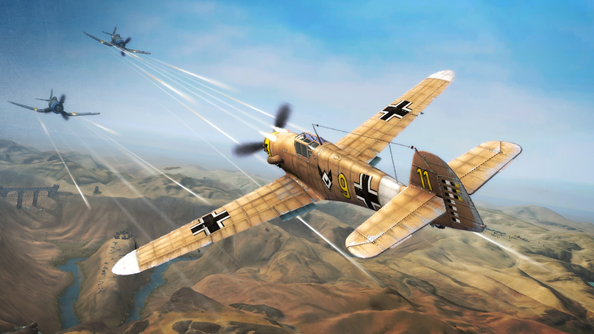 World of Warplanes is a success, say Wargaming.