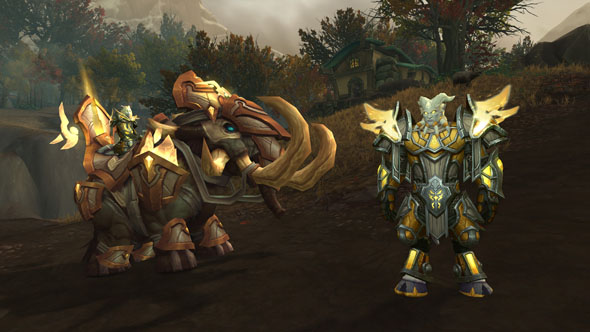 WoW Battle for Azeroth Allied Races Lightforged Draenei