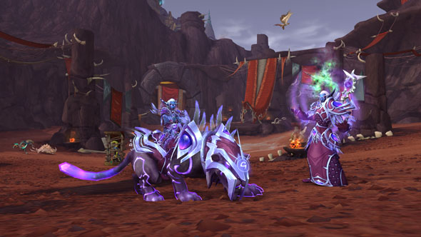 WoW Battle for Azeroth Allied Races Nightborne