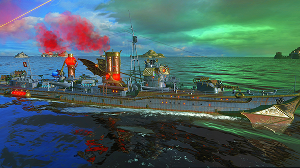 Do the impossible and kill Rasputin in World of Warships