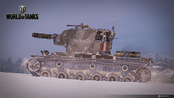 Valhallan Ragnarok camo for the KV-2 (R)