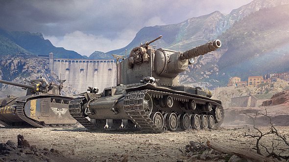 World of Tanks gets skins from Warhammer 40K's Imperial