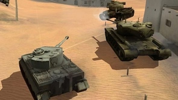 """World of Tanks Blitz is a mobile and tablet game """"inspired by"""" the"""