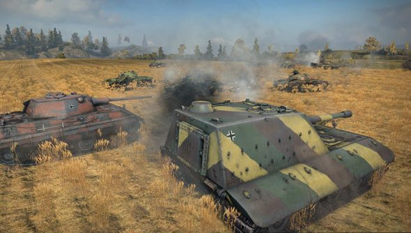 Confrontation is a team-based PvP mode for World of Tanks.