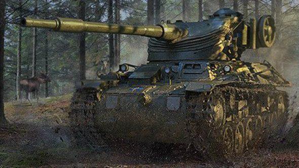 World of Tanks' first Swedish tank