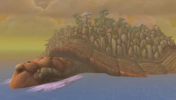 The Wandering Isle: the pandaren starting zone Doubleagent frequents.