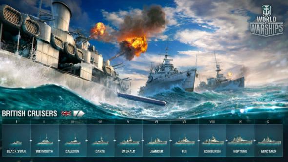 World of Warships royal navy britain