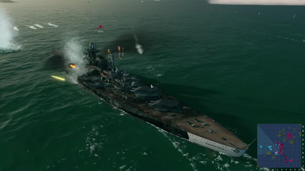 After just one match, World of Warships is already a better