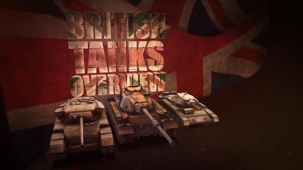 British tanks are finally coming in World of Tanks update 8.1