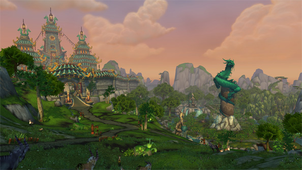 World of Warcraft patch 5.0.1 hints at Mists of Pandaria release date