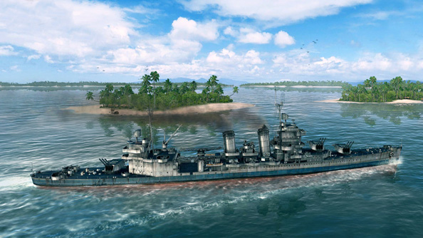 World of Warships shows off some new boats, reveals New Mexico class battleship