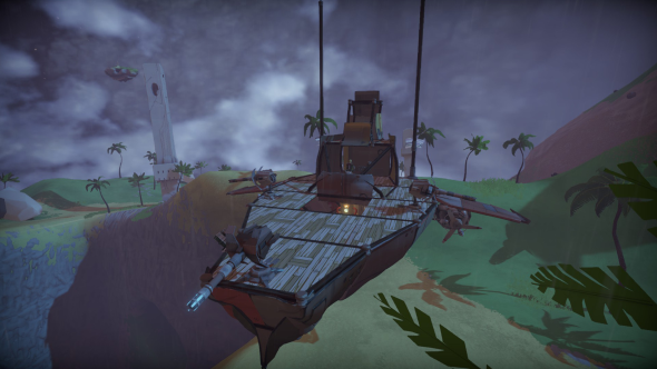 Worlds Adrift airship