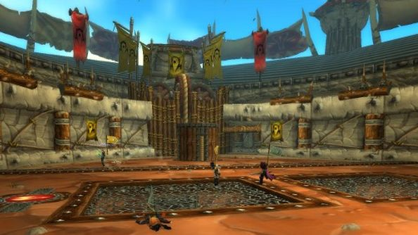 The Arena: not necessarily the competitive heart of WoW.