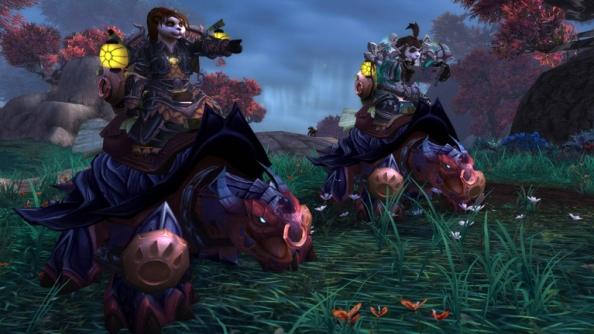 World of Warcraft's Pandaren Mount's unveiled: Dragon Turtles