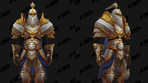 wow battle for azeroth warfronts alliance plate armour