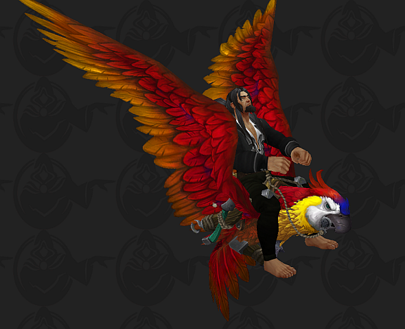 Battle for Azeroth parrot