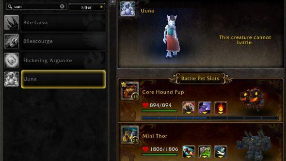 World of Warcraft Uuna secret