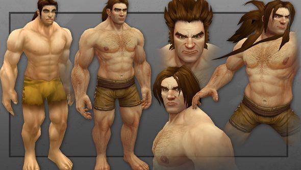 World of Warcraft human redesign