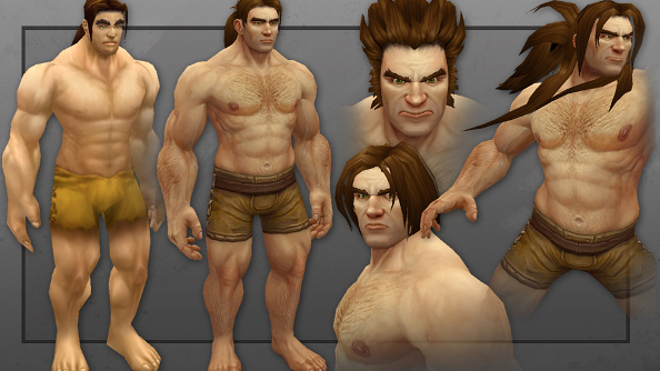 World of Warcraft human redesign