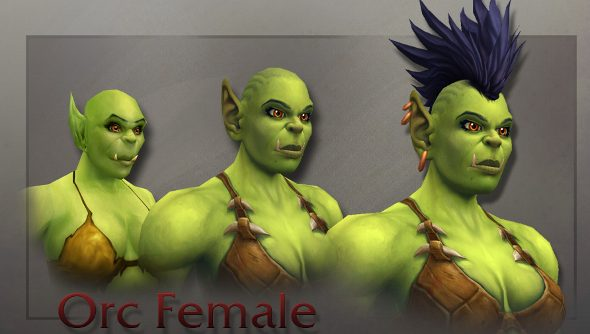 World of Warcraft's female orc revamp