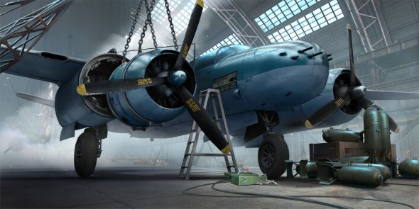 World of Warplanes bomber