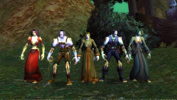 World of Warcraft's undelete character feature