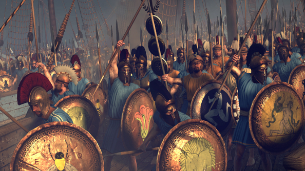 Total War: Rome II's Wrath of Sparta campaign is out now and full of angry Greeks