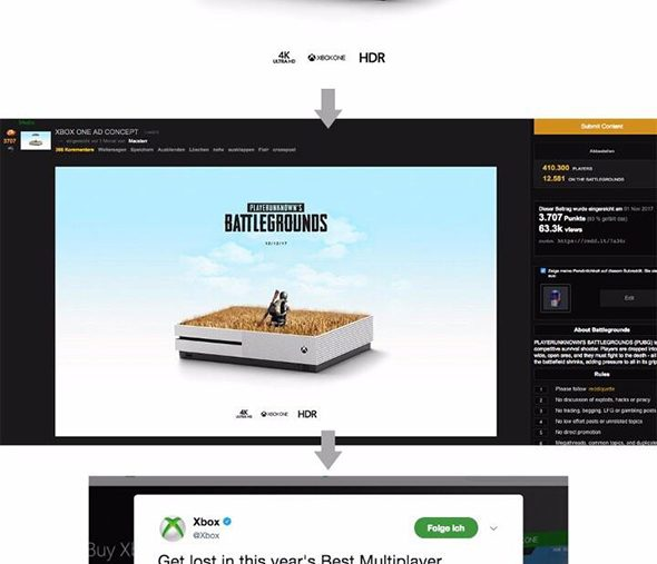 Microsoft drop PlayerUnknown's Battlegrounds ad for similarities to