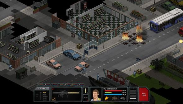 Xenonauts is set on a Cold War era earth, which affects its aesthetic somewhat.