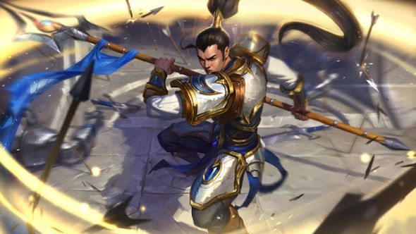 Xin Zhao splash art