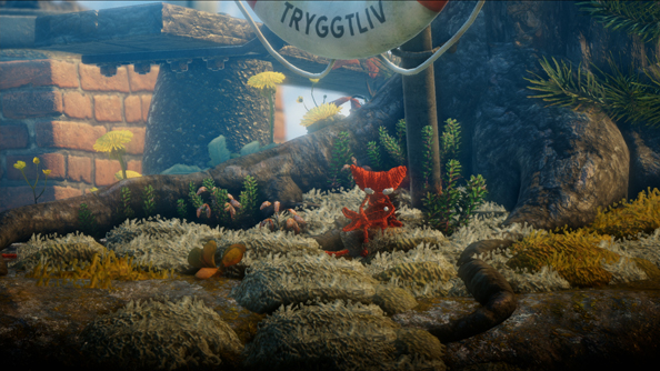 EA reveals new footage of their physics-based puzzle platformer Unravel