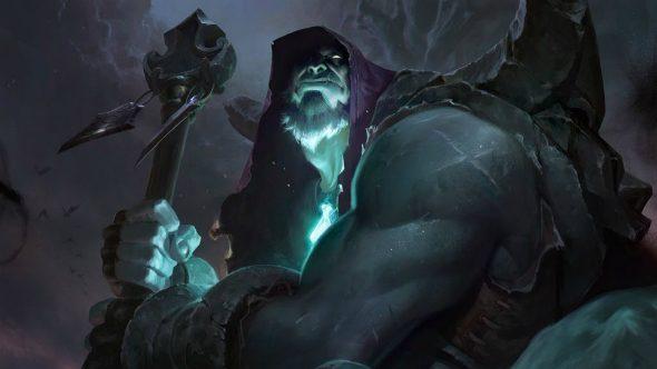 """League of Legends Yorick rework"""